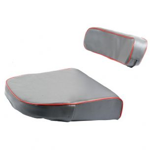 Massey Ferguson Seat Cushion & Back Rest Inc Steel Backing